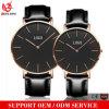 Relógios luxuosos do couro da forma do relógio de pulso do relógio do negócio de Japão Movt do relógio dos homens novos relativos à promoção do projeto Yxl-132
