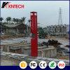 Telefone leve azul ao ar livre Knem-21 Kntech do telefone do SOS Emergeny