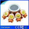Azionamento di gomma personalizzato 4GB dell'istantaneo del USB di figura dell'uovo di Pasqua