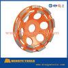 손은 가는 화강암 및 콘크리트를 위한 다이아몬드 컵 바퀴를 도구로 만든다