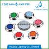 lâmpada subaquática montada de superfície da piscina do diodo emissor de luz 316stainlesss