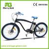 Fröhlicher Mann-Strand-Kreuzer-elektrisches Fahrrad-Fahrrad des Gold36v 250W