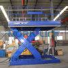 Table élévatrice à ciseaux stationnaire hydraulique pour l'usine