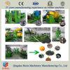 Gomma residua che ricicla macchina, attrezzatura di produzione di gomma della polvere