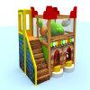 Oscilación plástico del centro del juego de niños y patio de interior de la diapositiva