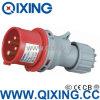 Qixing 기업 플러그 400V 16A 4p 6h IP44