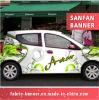 Etiquetas engomadas al aire libre de interior de la etiqueta del coche de la impresión de Digitaces para hacer publicidad