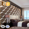 El panel de pared respetuoso del medio ambiente decorativo del cuero 3D del Faux del sitio de la cama