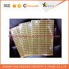 Contrassegnare la parola di servizio di stampa autoadesivo adesivo di carta stampato adesivo trasparente