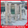 Granito natural y mármol pilar romano y columnas