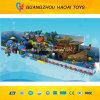Atraído Pirate Ship Soft Indoor Playground Equipment para crianças (A-15227)
