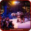 Het verbazende Verborgen Kostuum van de Dinosaurus van Benen