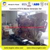 Groupe électrogène diesel de Cummins Kta19-D (m) 50Hz (300kw~400kw)