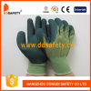 13 guanti di bambù Dnl316 del lavoro di Greenlatex della fodera della fibra misti calibro