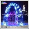 O diodo emissor de luz Speciall arqueia a luz do motivo do Natal para o parque do jardim zoológico