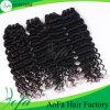 7A等級100%のインド人のバージンのRemyの毛の人間の毛髪のよこ糸