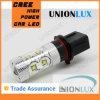 Lampe automatique blanche élevée 12V d'ampoule d'entraînement de lumière de brouillard de la puissance 50W de puissance élevée de P13W LED