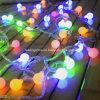 A corda Multi-Color ao ar livre do diodo emissor de luz do diodo emissor de luz ilumina a luz da corda do globo do bulbo da decoração do banquete de casamento do feriado das luzes de Natal