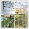 Rollenoberseite-Fencing/PVC beschichteter galvanisierter Maschendraht-Zaun