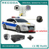 Cámara variable de la velocidad PTZ de la visión nocturna Vehicle-Mounted del IR para el coche policía