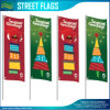 Fast Delivery Screen Digital Printing Custom Street Banner Flags