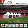5X5m Aluminium-Pagodegazebo-Zelt für im Freienpartei-Empfang