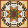 Tegel 1200X1200mm van de Vloer van het Kristal van het Tapijt van het Patroon van de bloem Tegel Opgepoetste Ceramische (BMP21)