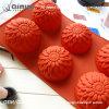 Venda Bonita cor quente do molde de chocolate de Silicone