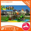 Детский пластиковый слайд, детская игровая площадка и игровая площадка для установки вне помещений,