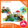 Campo de jogos ao ar livre das crianças plásticas comerciais da corrediça do jogo do jardim de infância