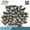 Jdk 우수한 대리석 절단을%s 진공에 의하여 놋쇠로 만들어지는 다이아몬드 철사 구슬