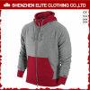 Los últimos diseños del suéter para las mujeres de los hombres venden al por mayor Hoodies rojo y el gris (ELTHI-40)