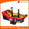 スライド(T6-603)を跳んでいる2017人の新しい海賊船のスライドの膨脹可能な子供