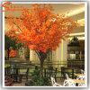 Ome decoração por grosso de plástico vermelho Artificial Maple Tree