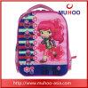 Розовый мешок школы Backpack Bookbag напольный для девушок