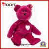 Urso vermelho da peluche do coração como presentes do acoplamento ou presentes de casamento