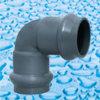 Garnitures de pression de PVC avec l'articulation de boucle en caoutchouc
