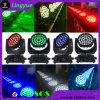 Professional 36x12W RGBW Lavar Cabezal movible LED Iluminación DJ