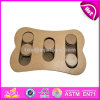 L'addestramento del cane di disegno tratta specialmente i giocattoli di legno W06f034 di puzzle del cane del cane di puzzle dei giocattoli di migliore ricerca interattiva di legno dell'animale domestico