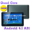 Quad Core A31 10,1дюймов Tablet PC IPS 1280*800 1.2GHz Android 4.1 2g ОЗУ 16ГБ HDMI Full HD с двумя камерами