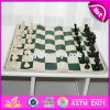 Производитель переносные деревянные поездки Шахматный набор для продажи W11A057