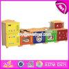 Cocina de madera W10c273 del juego de los mejores del diseño de los niños muebles del dormitorio
