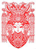 Tradicional Papel-Cortar (la máscara) de la ópera de Pekín (BOM-002)