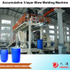 Machine de empilement en plastique de soufflage de corps creux de baril