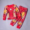 Ironmanのスパイダーマンの標準的な幼児の衣裳、漫画の英雄の衣裳は、男の子の衣服をからかう