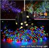 chaîne de caractères solaire de Noël de 50m 50LEDs/String DEL pour la décoration extérieure