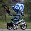 El triciclo del bebé embroma el triciclo por 1-5 años con el pabellón plegable