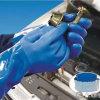 Химически промышленным перчатки работы безопасности PVC покрынные латексом
