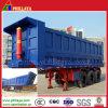 반 광석 수송 3개의 차축 옆 덤프 트럭 트레일러 (32 cbm)