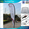 Напольное Advertizing Teardrop Banner с Ground Drill (J-NF04F06048)